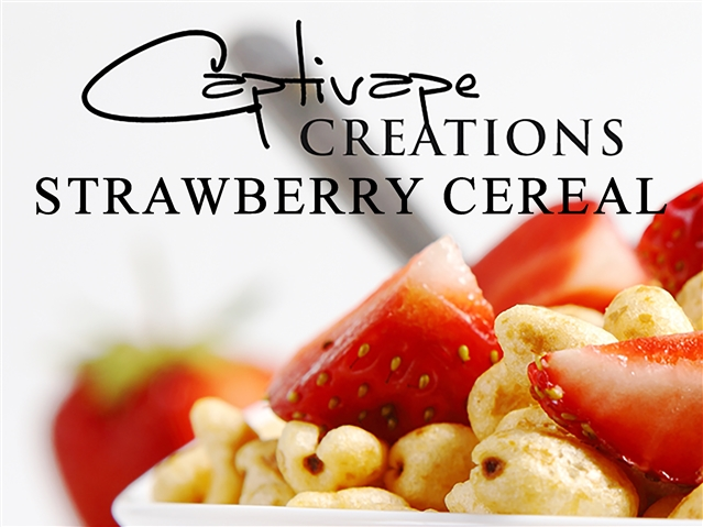 Strawberry Cereal от Captivape рецепт клона